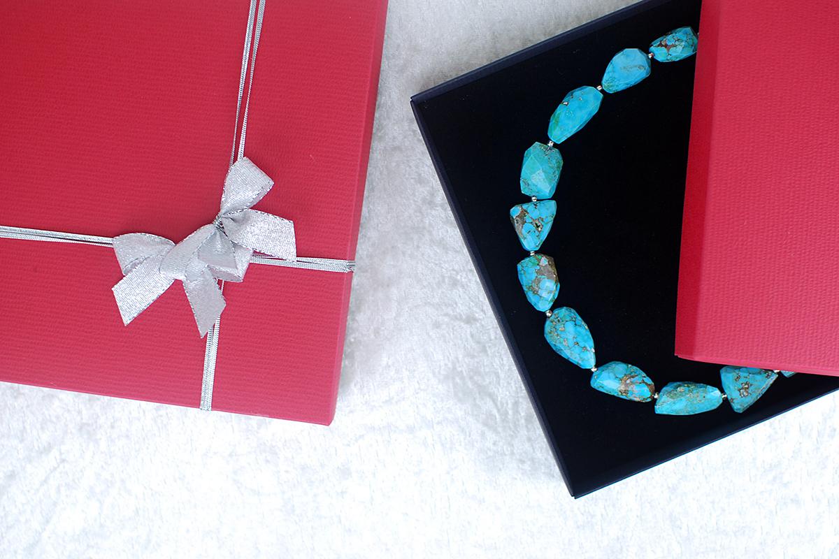 Schmuckbox als Geschenkverpackung