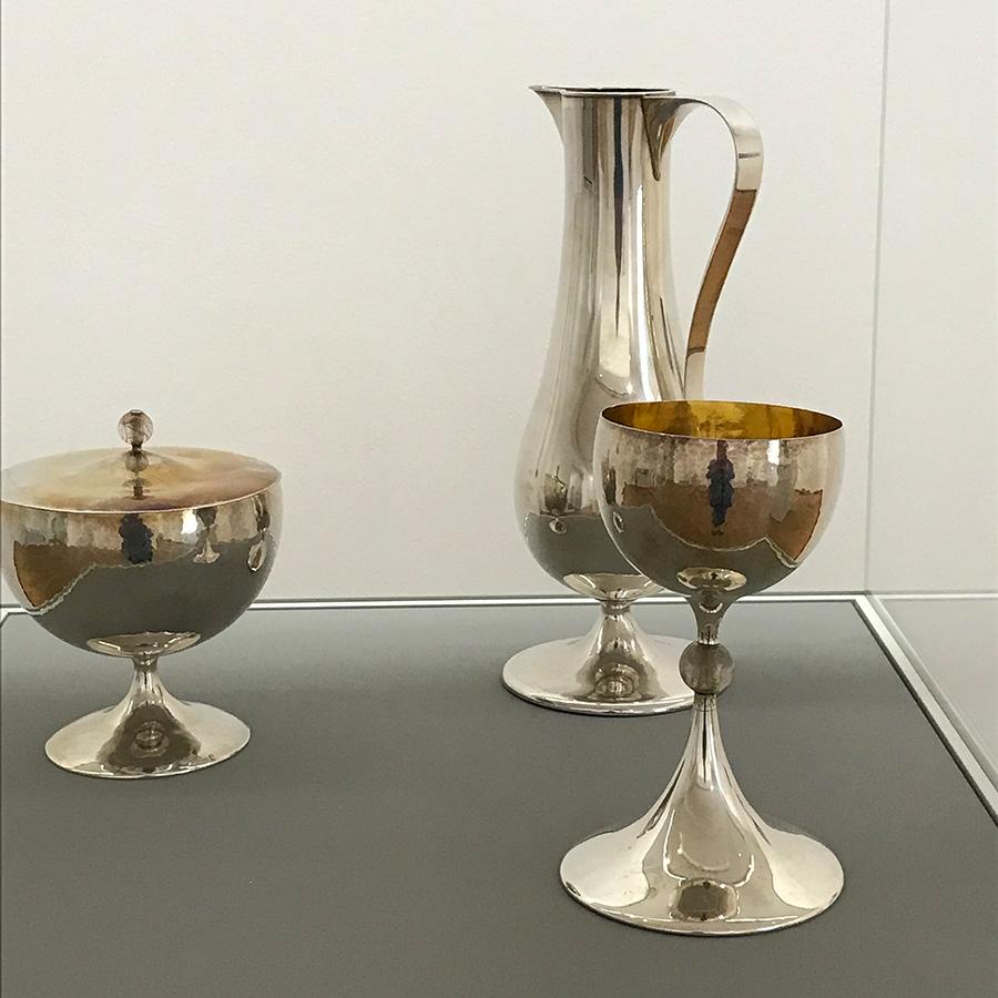 Silbergefäße von Elisabeth Treskow
